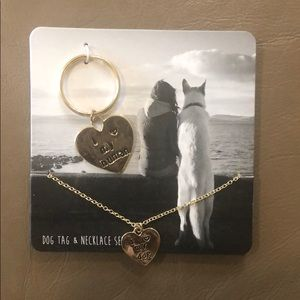 Necklace and Dog tag